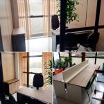 Salas comerciais e salas de reunião para locação em coworking em curitiba