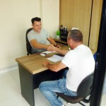 Cliente coworking megaself em curitiba fechando contrato