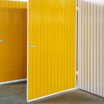 Boxes com estrutura metálica e portas reforçadas