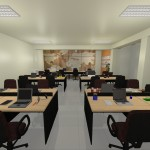 Estações de trabalho e Coworking Megaself Curitiba