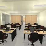 Mesas e estações de trabalho virtuais, projeto 70% concluído