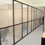 Corredor de aceso para escritórios de Coworking e Estações de trabalho na Megaself